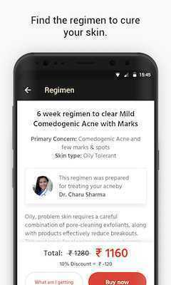 How do I operate the CureSkin App?