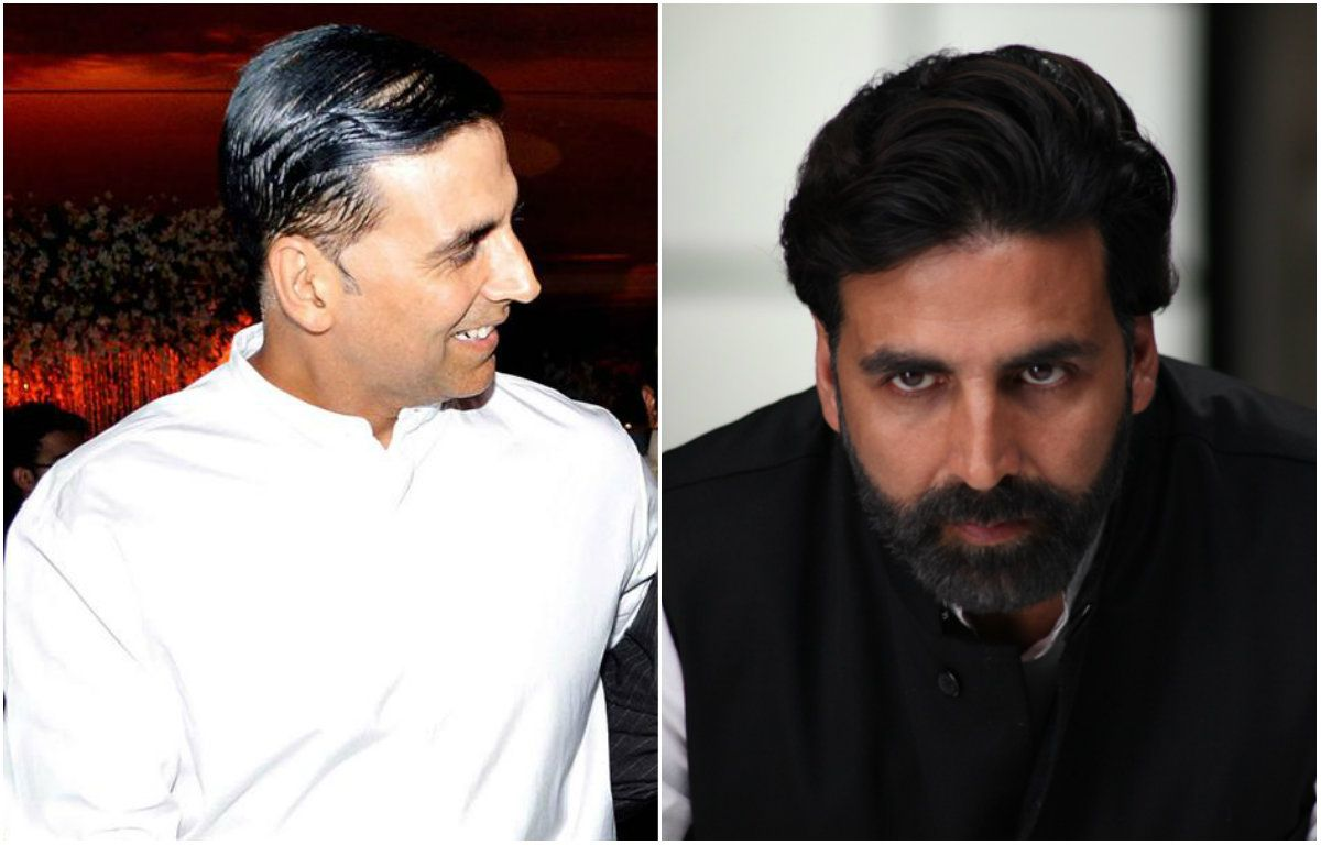 Sudden hairfall of Akshay Kumar