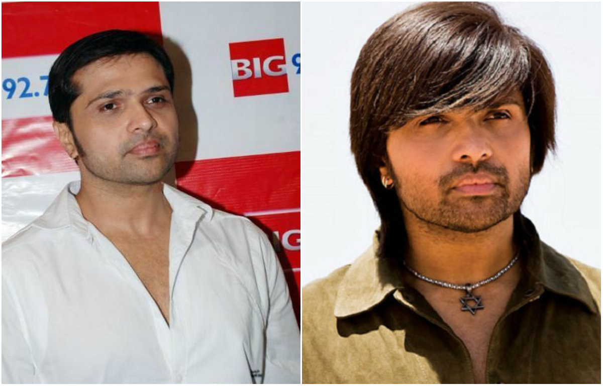 Hair transformation of Himesh Reshammiya