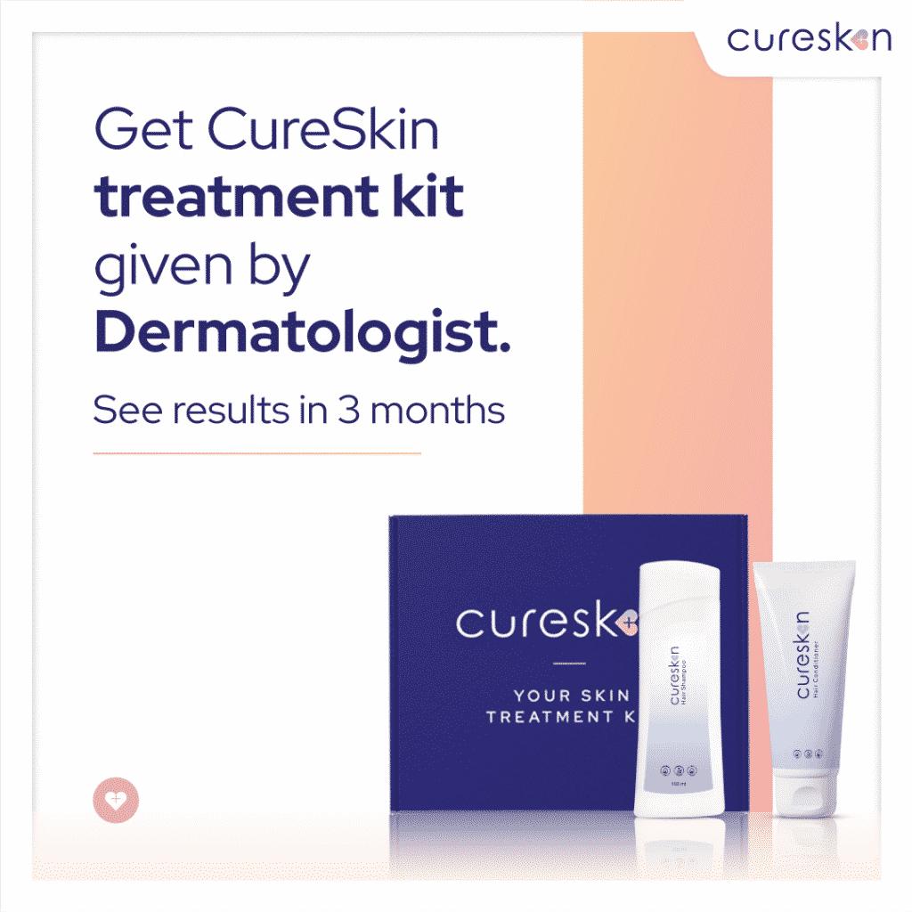 cureskin treatment kit, dermatologist, cureskin app