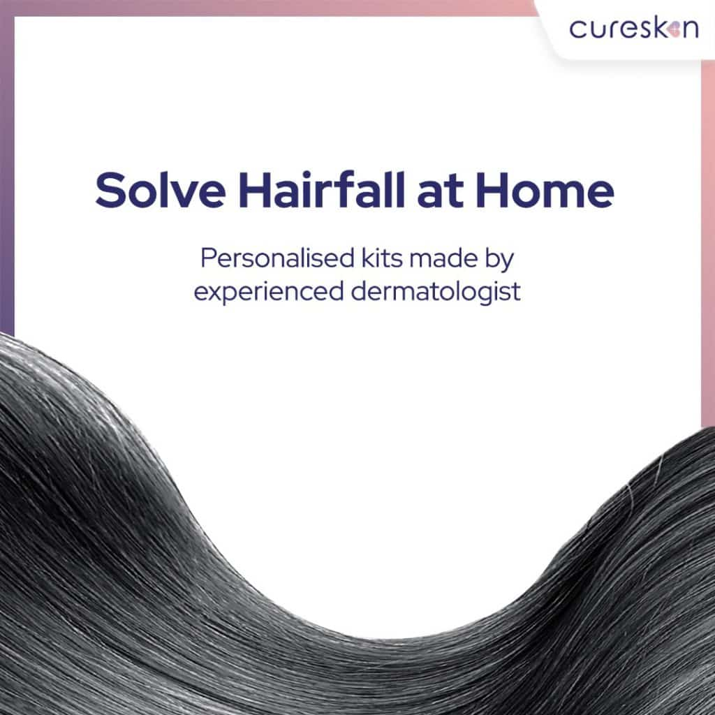 cureskin hair treatment, personlised kits, Dermatologist
