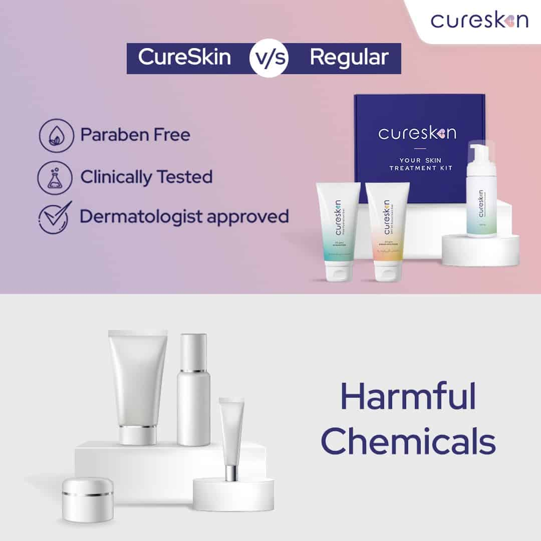 cureskin products vs regular products