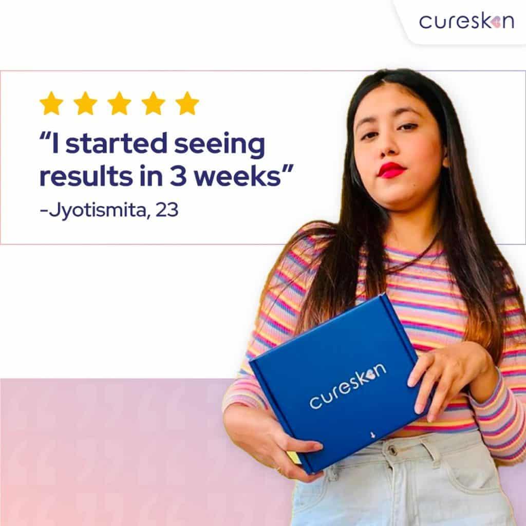cureksin reviews, testimonials, cureskin app